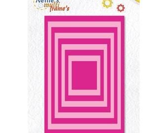 9 Dies basic rectangular frame 7 x 10, 5cm_MFD058