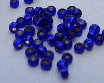 Seed beads 2mm dark blue
