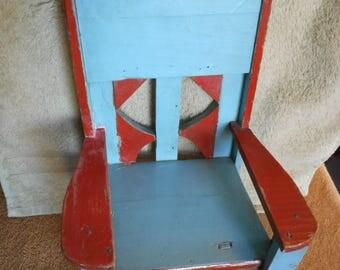 Primitive Miniature Doll Chair