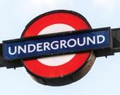 Underground Sign Blank Gr...