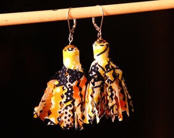 Earrings tassel - Lantana