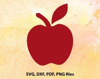 Apple SVG File | Apple Cut File | Apple Png | Apple Cricut | Apple Cameo File | Apple Svg Silhouette | Apple studio File | Apple Dxf | Apple