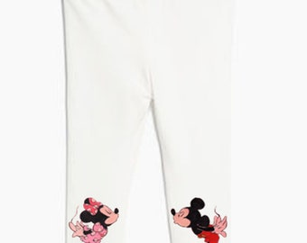 Mickey and Minnie baby pants