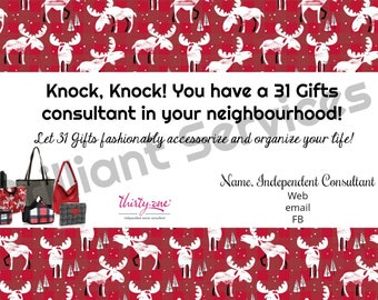 Thirty-One Gifts New Neighbour - Digital File Postcard
