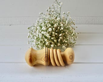 Olive Ash Baby Rattle