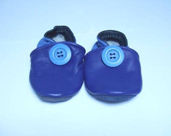15 c booties babies in shades of blue