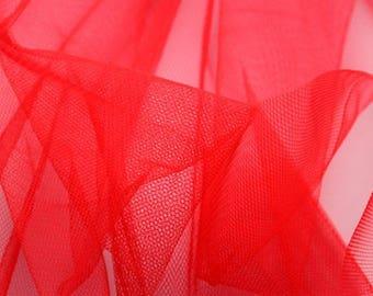 fabrics stiff red tulle tutu