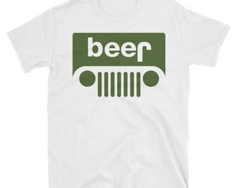 Jeep Beer Short-Sleeve  T-Shirt