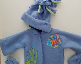 fishie baby jacket