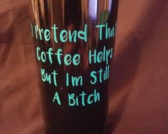 Coffee Lovers Funny Travel Mug