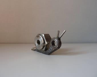 "Sculpture ""Iron snail"""