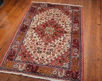 Vintage Persian Hamadan Rug, 3u00275u0027u0027x5u00273u0027u0027,