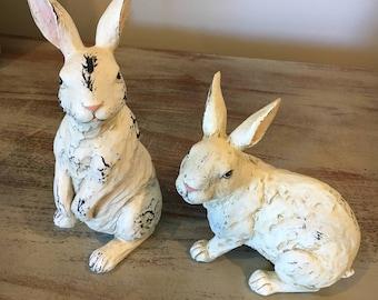 Decorative Rabbit Statues