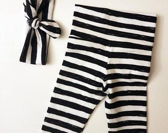 Striped Legging/Headband Set