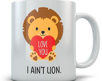 Cute Lion Mug - Coffee Cup Gift for a Loved One