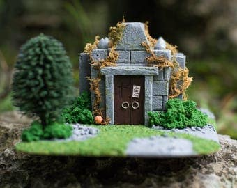 Ancient Crypt - Wargaming Terrain, RPG Warhammer, Dungeons and Dragons, Custom, Warhammer, 28mm Terrain, Warhammer 40k,  RPG, discount