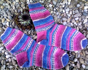 Hand knitted socks size 38/39.