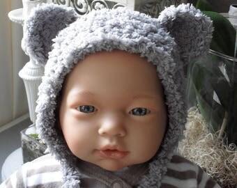 Beanie baby bear shape