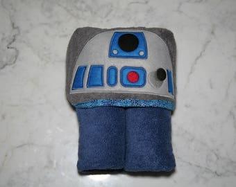 R2D2 Hooded Towel