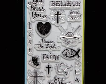 Good News 99568 Inkadinkado Clear Rubber Stamps