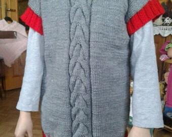 6 sleeveless sweater