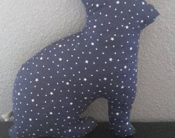 Plush baby or child paashaas theme Midnight Blue starry