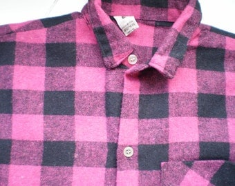 T 44/46 woman very good but warm flannel shirt