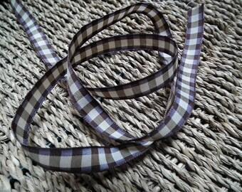 Ribbon ♥1M 10mm♥ Brown tiles