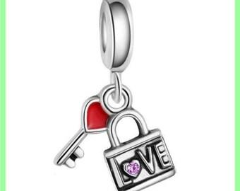 bail N259 cadena European spacer bead for bracelet charms