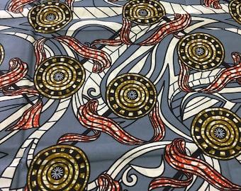 6 yards Ankara fabric, Ankara dress, African clothing, African wax print,