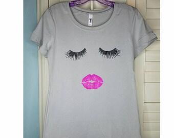 Eyelashes & Lips