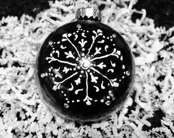 Christmas ornament . Hand crafted.