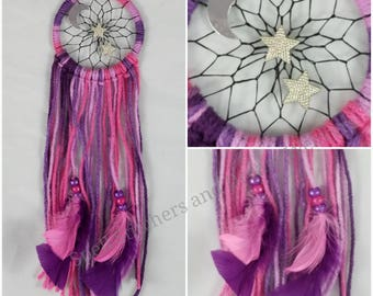 Moon and Stars Dreamcatcher