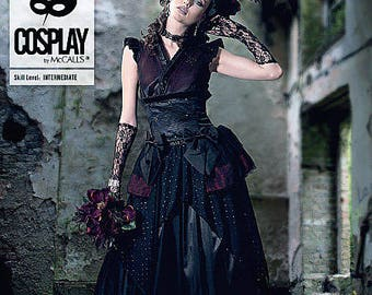 By Mc Call's beautiful black M2050 Cosplay costume sewing pattern