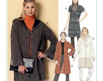 B6394 coat sewing pattern