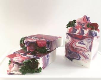 Black Raspberry Vanilla Soap  Best Selling Fragrance
