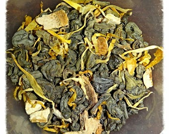 Honeycomb Loose Leaf Green Tea