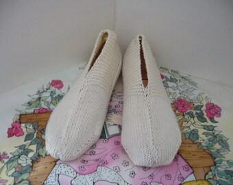 Night slippers Miss Meryem cream