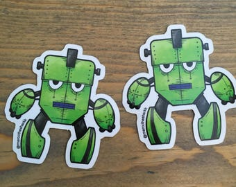ROBO-BOT Vinyl Sticker
