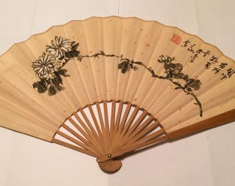 Hand painted Chinese fan