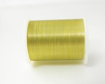 Roll golden copper wire (l432)