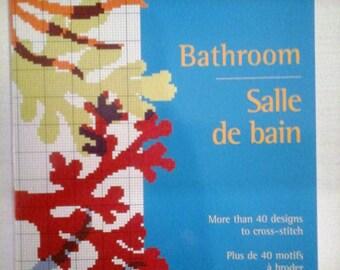 Cross stitch book Edition DMC special bathroom