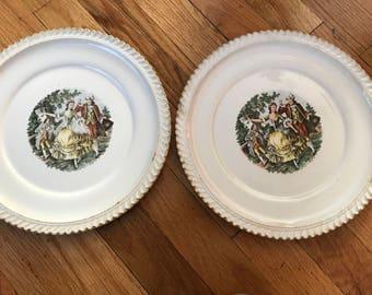 Harker Pottery Company Dinner Plates