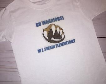 Customized Kids School Spirit Tshirt