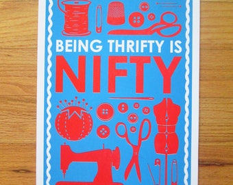 Being Thrifty is Nifty