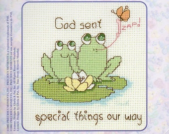 Precious Moments Fur Ever Friends Special Things Counted Cross Stitch Kit