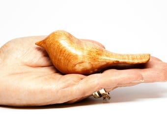 Hand-carved bird - Hard Maple