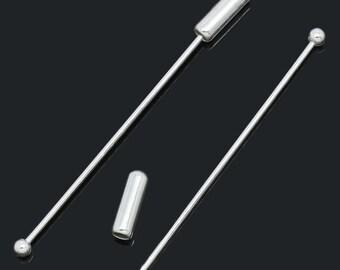 Fibula, brooch, pin facings, 50 mm