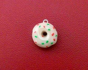 Holiday Donut Charm