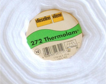 Vilene 272 Thermolam compressed fleece, Thermolam, wadding, batting, sew in fleece interfacing, fleece for bag making